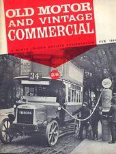 Old Motor magazine Feb 1964 Sizaire et Naudin Invicta Coulthard