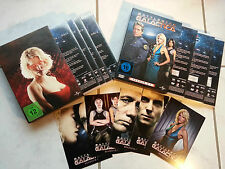 Battlestar Galactica _ Staffel 1 & 2.1 _ DVD _ Box_ Kampfstern Galactica _ Serie
