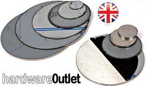 Brushed STAINLESS STEEL Blank Round DISC 304 Grade Sheet Metal Plate Laser Cut