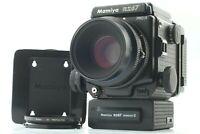 【N MINT+++】 MAMIYA RZ67 Pro II  Winder + SEKOR Z 110mm f/2.8 W + 120 FilmBack