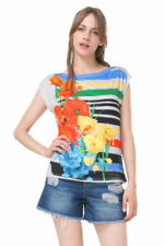 Boat Neck T-Shirt Floral Tops & Shirts for Women