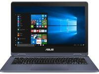 "ASUS VivoBook Flip Thin and Light 11.6""HD TOUCH N3350 4 64GB SSD J202NA-DH01T"