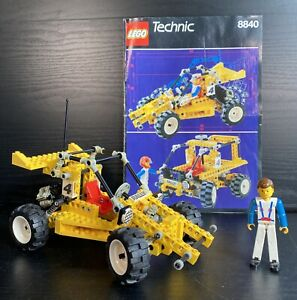 Vintage LEGO Technic Rally Shock 'n' Roll Racer 8840 with Original Instructions