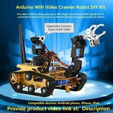 Arduino WiFi Video  Crawler Robot DIY kit  / Programming Robot