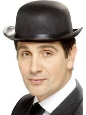 Bowler Hat Adult Mens Smiffys Fancy Dress Costume Hat