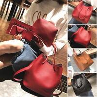 Womens PU Leather Handbag Cross Body Shoulder Bags Tote Purse Satchel Messenger