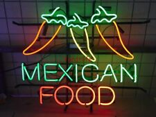Mexican Food Open Shop Wall Decor Visual Artwork Beer Bar Neon Light Sign
