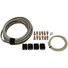 Blue Ox BX8848 Trailer Wire Installation Kit w/26' Long 4-Wire Harness 4 Diodes