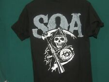 Sons Of Anarchy SOA Reaper Logo  small T Shirt