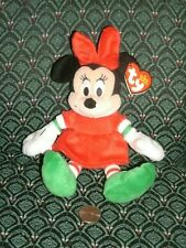 "Ty Beanie - the 6"" CHRISTMAS MINNIE - Walgreens Exclusive ~ 2012 ~ NEW ~ MWMT"