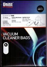 Unifit Vax Vacuum Cleaner Bags UNI117