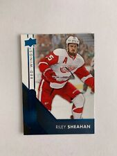 2016-17 Upper Deck Overtime Blue #18 Riley Sheahan - Detroit Red Wings