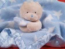 BABY A STAR IS BORN  BlueTeddy BEAR BLANKIE comforter BABY TOY NEXT DAY POST