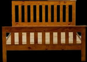 Timber Double Bed & Single Bed Frames like new - p/up Richmond NSW