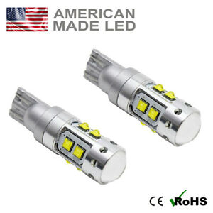 2 x 50w Super Bright CREE LED Reverse Light Bulb 921 W16W W21W T15