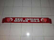 Door push bar Red motor oil Retro Antique gasoline Advertising
