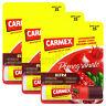 3 x Carmex Pomegranate Lip balm Flavored SPF15 Moisturising Dry lips Click stick