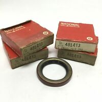 """Lot of 4 National 481413 Nitrile Oil Shaft Seal 1.25"""" Bore x 1.756""""OD x 0.250"""" W"""
