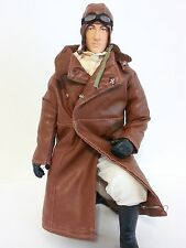"1/4.5 ~ 1/4 Scale 15"" Tall WWI British / American RC Pilot Figure"