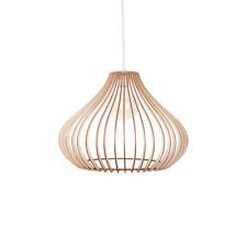 Bois Lampe / Bois Shade / Suspension / Light / Plafond décoratif Lampe / Lamp