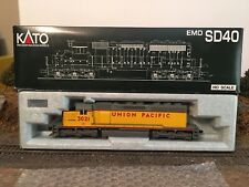 Kato HO EMD  SD 40 In UP Colors # 3021