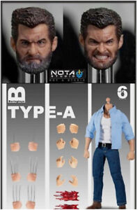 NT-TY-A: Nota Studio 1/12 Scale Logan Wolverine Action Figure - Standard Type A