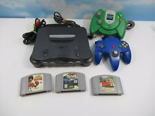 Nintendo N64 Console Lot 2 Controllers 3 Games Cruisin Usa Ready 2 Rumble Boxing