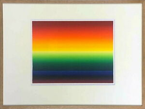 Ay-O Silkscreen Art Print Rainbow painter Original Signed Limited Edition 200