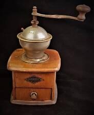 antik alte Kaffeemühle D.R.G.M. LEINBROCK WERKE Ideal