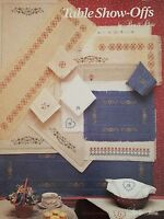 TABLE SHOW-OFFS Counted Cross Stitch Leaflet by Studio Seven / Bea & Chris