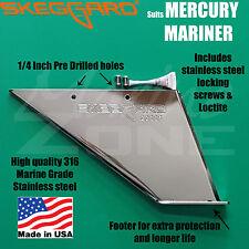 M-34127-A Mercury Out Drive Skeg Long Fin in Aluminum