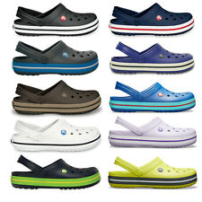 Unisex Adults Crocs Crocband Clog Beach Shower Durable Rubber Sea Shoe All Sizes