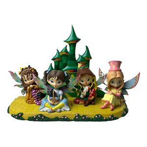 Jasmine Becket Griffith 5 Piece FAIRIES Of OZ Collection Wizard of Oz figures