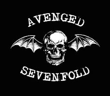 AVENGED SEVENFOLD STICKER, 14.5cm x 9.5cm, Decal, Magnet Available, Free Au Post