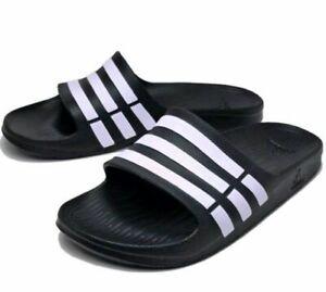 G15890 Black/ White Duramo Slides