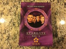 STARGATE SG-1 SEASON FIVE 5 NO SCRATCHES 5 DISC DVD SET SCI-FI ACTION TV SERIES!
