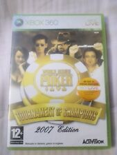 World Series Of Poker  Tournament Of Champions 2007 Edition XBOX 360