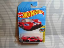 2018 HOT WHEELS ''LEGENDS OF SPEED'' #195 = 2016 FORD GT RACE = RED  int