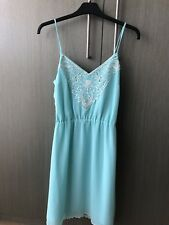 Brand New Ladakh Mint Green Embrodery Strappy Dress Size 8