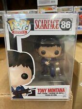 Funko Pop! Movies Scarface Tony Montana #86 Vaulted - NEW - w/ Pop Protector