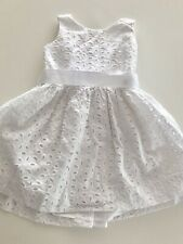 RALPH LAUREN Kleid mit Höschen Baby Mädchen Weiß Gr. 9M