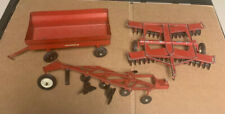 New ListingVintage Ertl 1/16 scale International Farm toy implements disc plow wagon