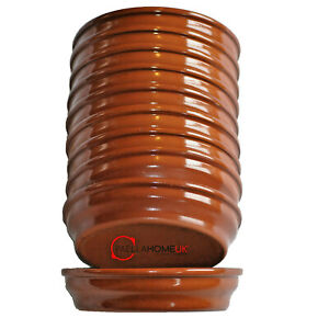 12 x 13.5cm Tapas Dish Terracotta - Stackable - Tapas Dishes - Spanish Cazuelas