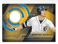 BRENNAN BOESCH 2014 TOPPS TRAJECTORY RELICS #TR-BB TIGERS FREE COMBINED S/H