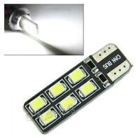brillante 2W 12-smd blanco 2821 2825 W5W Coche de luz LED CANbus T10 194 168