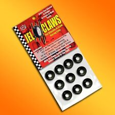 1/64 HO Scale Johnny Lightning Slot Car Tires 10pk Fits Thunderjet 500, Aurora