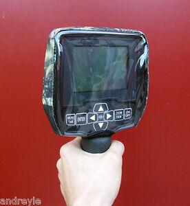 Dust dirt rain covers set for Whites Vision Spectra V3i metal detectors (4pcs)