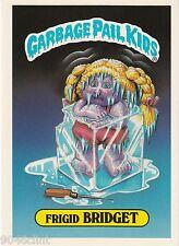 1986 TOPPS GARBAGE PAIL KIDS 1ST SERIES GIANT #32 FRIGID BRIDGET NM CONDITION