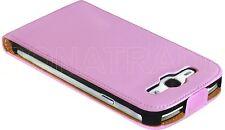 Praktische Ledertasche/Etui/Schutzhülle für Samsung Galaxy S3 i9300, Farbe Pink