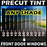 PreCut Film Front Door Windows Any Tint Shade VLT for Dodge Trucks Glass
